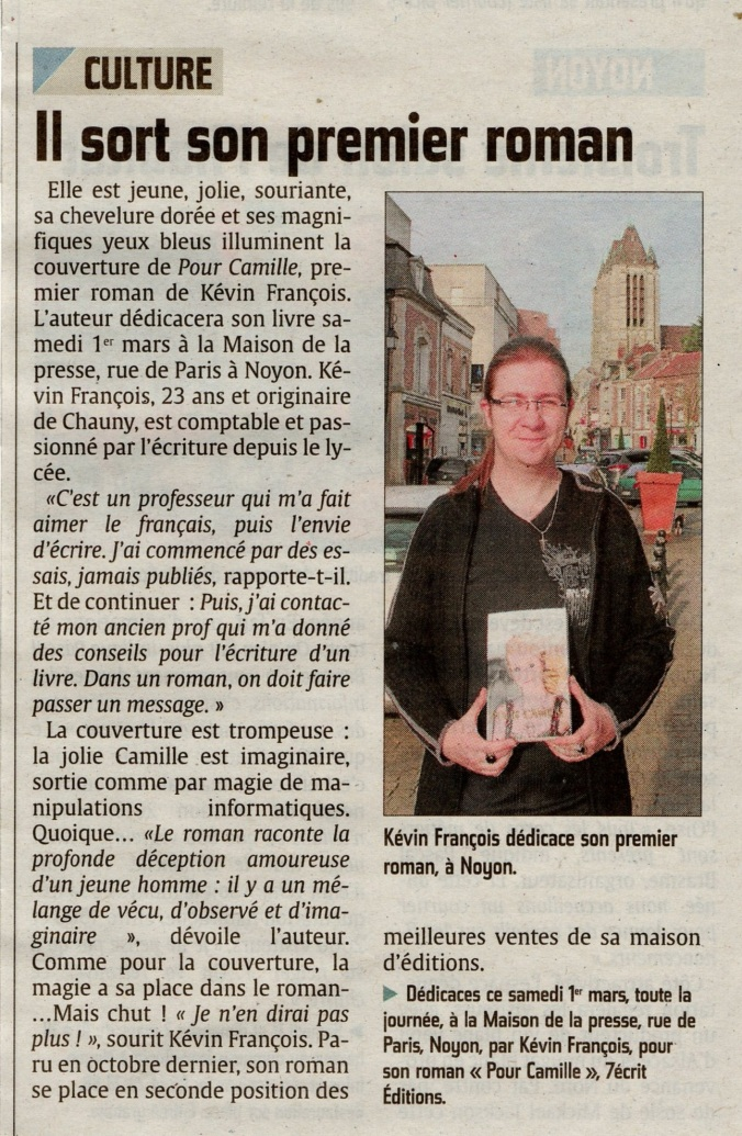 Courrier-Picard de Noyon - Le 1er Mars 2014