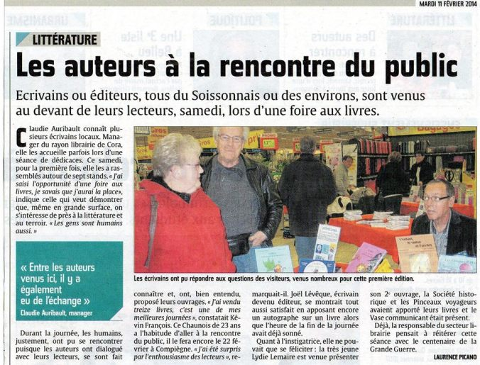 Courrier-Picard de Soissons le 15 02 2014
