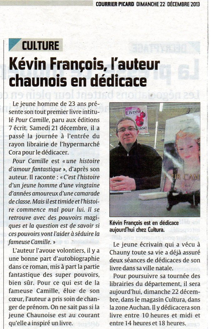 Courrier Picard Saint-Quentin