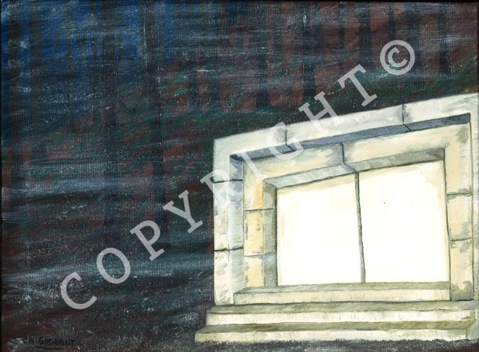 c2 La porte de pierre blanche