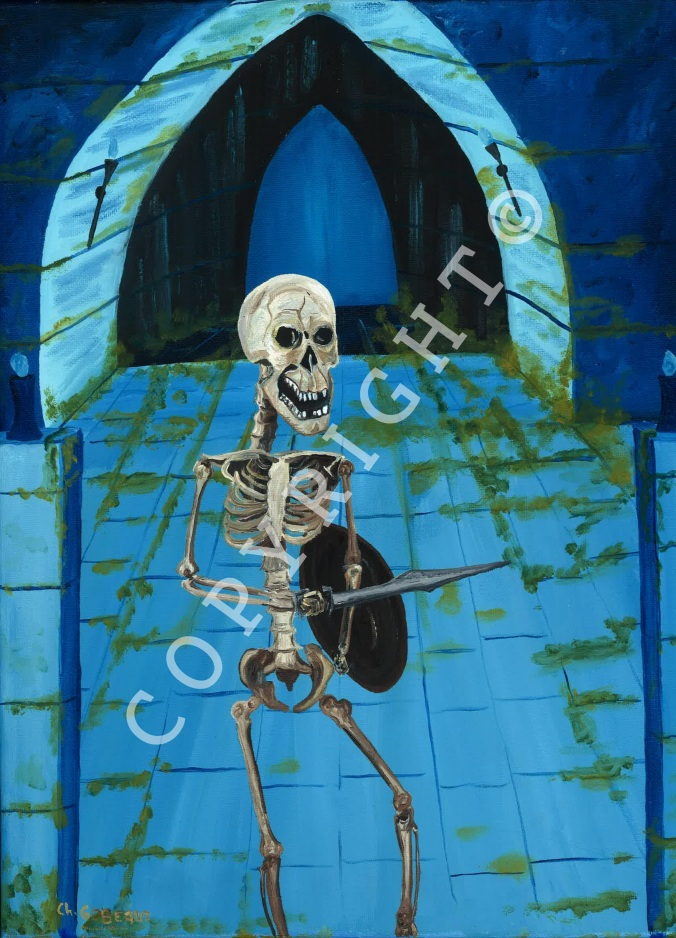 c27 Le squelette guerrier