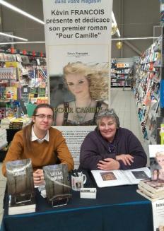 Kévin et Chantal, écrivain et illustratrice