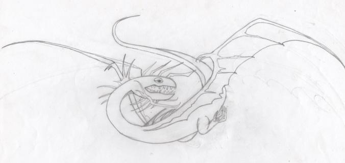 Dragon monture de Nazgul